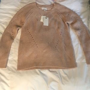 Blush Lucky Sweater NWT sz Small